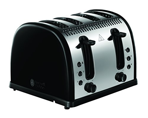 russell hobbs legacy 4 slice toaster black my kitchen accessories. Black Bedroom Furniture Sets. Home Design Ideas