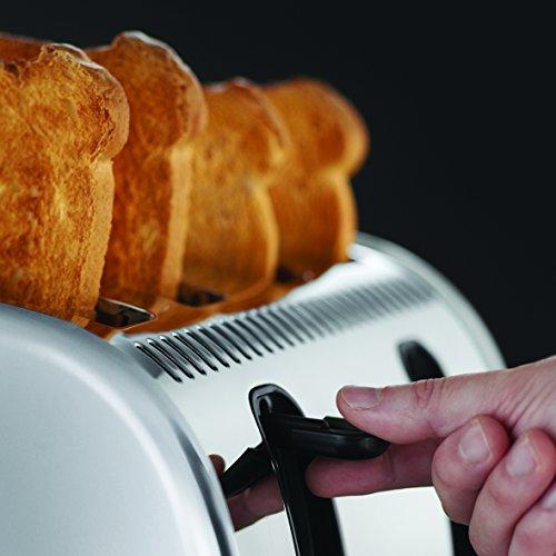 Russell Hobbs Legacy 4 Slice Toaster - Stainless Steel