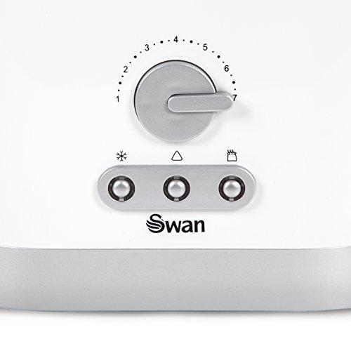 Swan 2-Slice Toaster - White