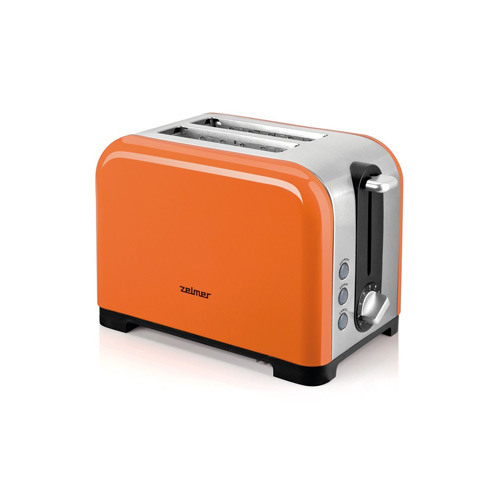 Zelmer TS1600 2-slice Toaster 850 W - Orange