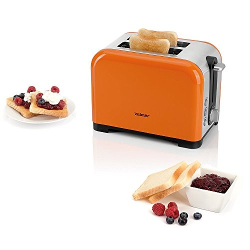 zelmer ts1600 2 slice toaster 850 w orange my kitchen accessories. Black Bedroom Furniture Sets. Home Design Ideas