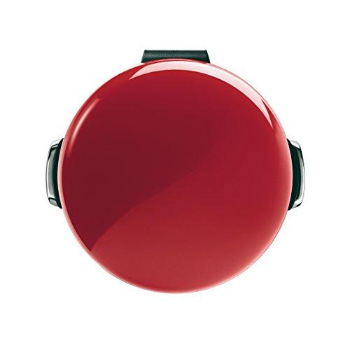 Simplehuman 30 Litre Retro Pedal Bin - Red Steel