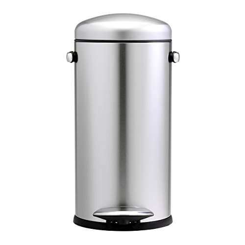 Kitchen Accessories Amazon Uk: Simplehuman 30 Litre Retro Pedal Bin