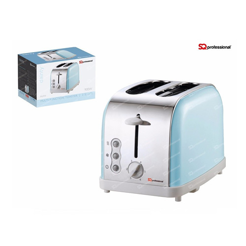 SQ Professional Legacy 900W 2 Slice Toaster, Duck Egg Blue