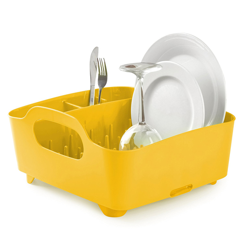 Yellow Dish Rack