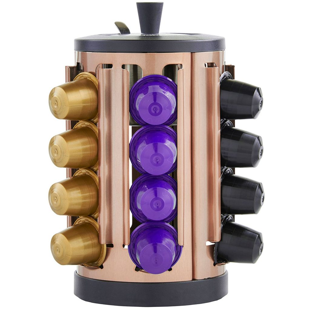 Nespresso Copper Coffee Capsule Holder