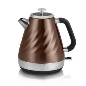 Swan Copper Twist Kettle