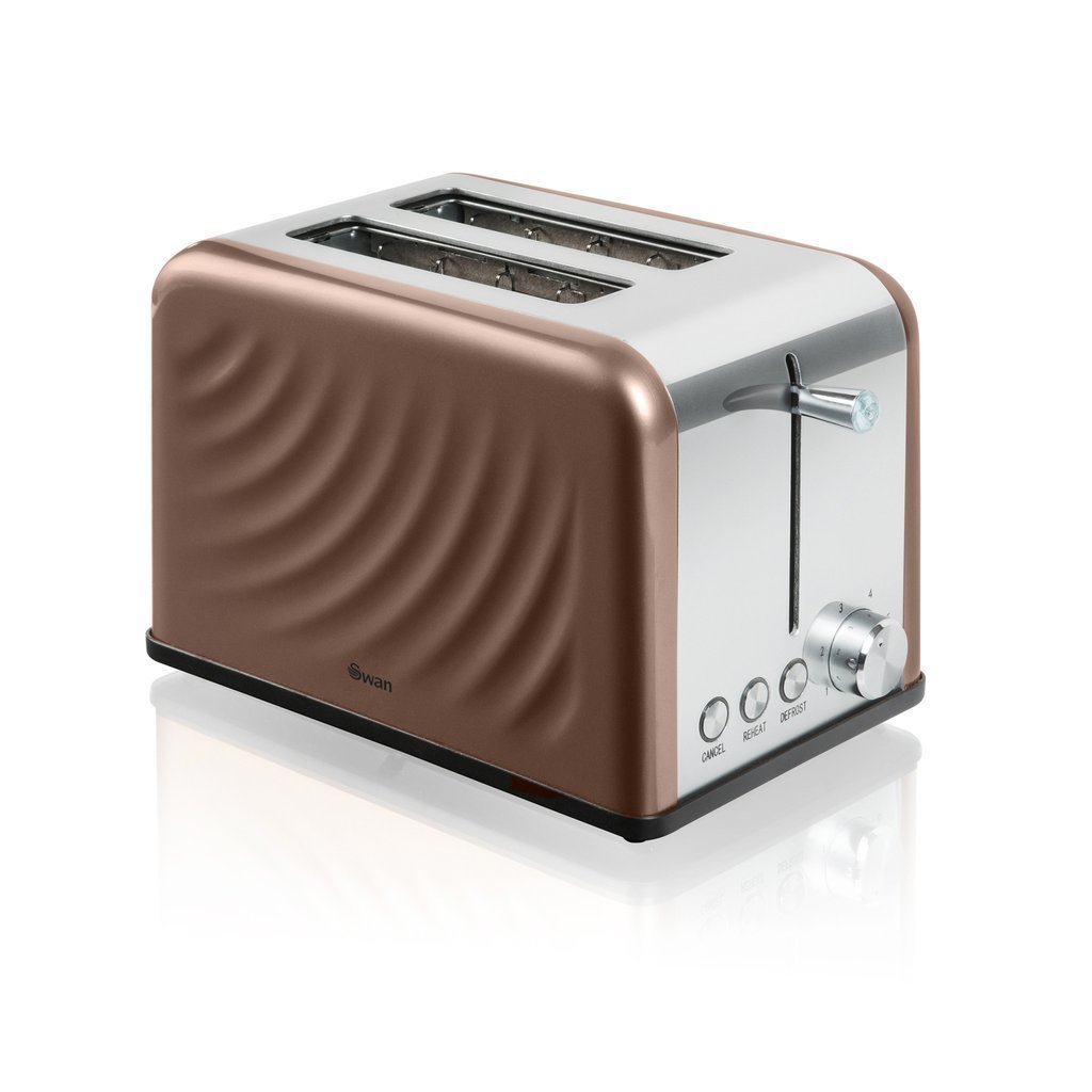Swan Copper Toaster