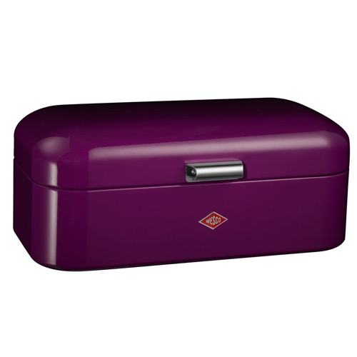 "Wesco ""Grandy"" Purple Bread Bin"