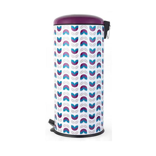 Salter BW04607 Maddison 30 Litre Purple Kitchen Bin