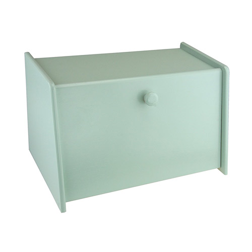 Apollo Wood Drop Front Mint Green Bread Bin