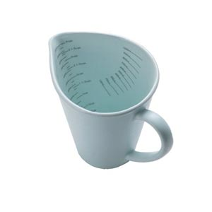 Nigella Lawson Living Kitchen Measuring Jug 1lt Duck Egg Blue