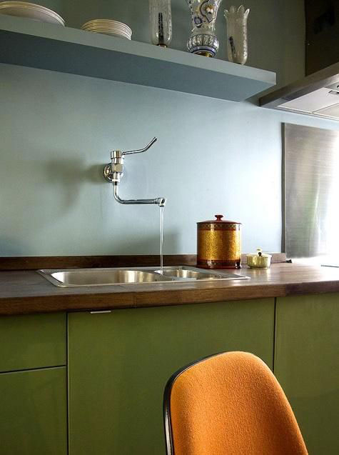 Duck-Egg-Blue-and-Olive-Green-Kitchen