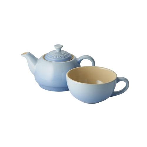 Le Creuset Duck Egg Blue Tea for One Teapot Set