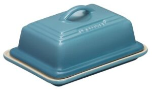 Le-Creuset-Stoneware-Butter-Dish-Teal-0