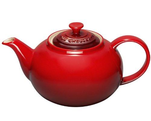 Le Creuset 1 3 L Stoneware Classic Teapot Cerise Red