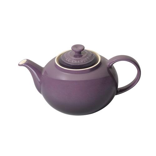 Le Creuset 1 3 L Stoneware Classic Teapot Cassis Purple