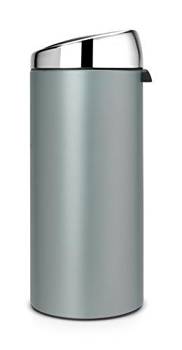 Brabantia 30 Litre Touch Bin Metallic Mint Green