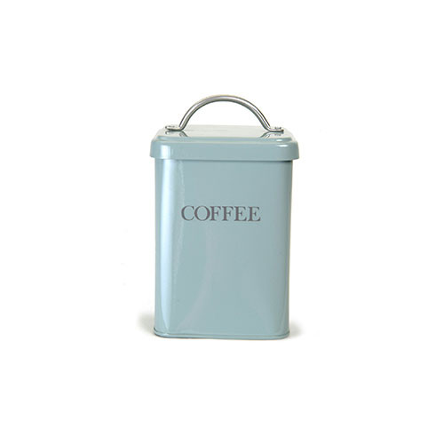 Garden Trading Coffee Canister Duck Egg Blue