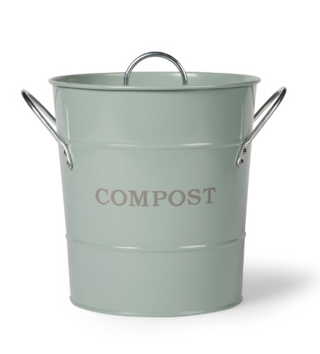 Garden Trading Compost Bucket Duck Egg Blue