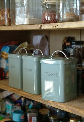 Garden Trading Canisters Duck Egg Blue