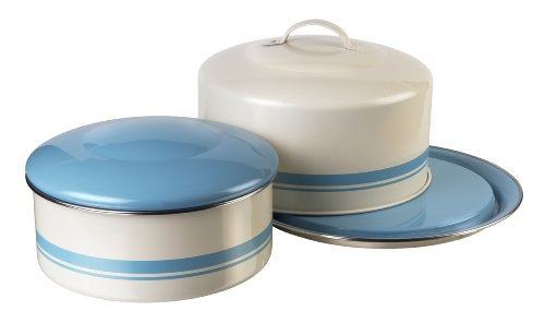 Jamie Oliver Small Amp Large Cake Tin Set Duck Egg Blue