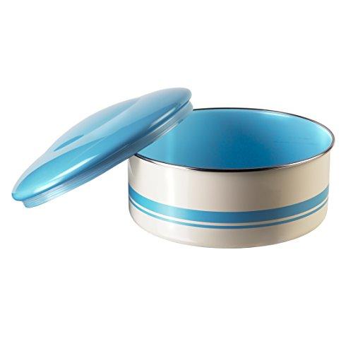 Jamie Oliver Vintage Cake Tin Duck Egg Blue & Cream