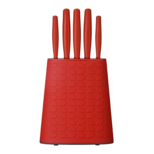 Premier Housewares 5 Piece Knife Set Red