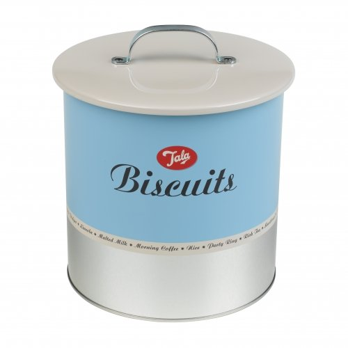 Tala 1960s Biscuit Storage Barrel Duck Egg Blue
