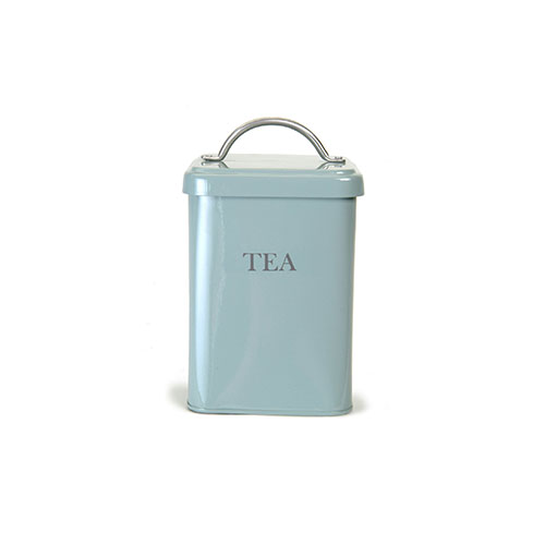 Garden Trading Tea Canister Duck Egg Blue
