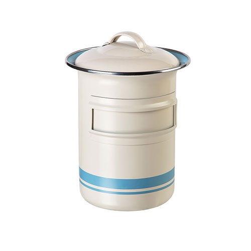 Jamie Oliver Medium Storage Tin Cream & Duck Egg Blue