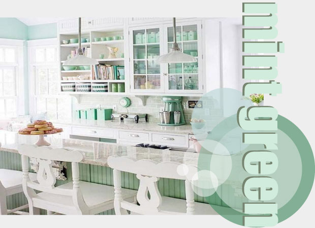 Mint Green Kitchen Accessories