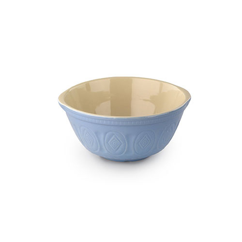 Tala Retro Stoneware Mixing Bowl 12 inch Duck Egg Blue