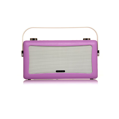 View Quest Hepburn Bluetooth System with DAB+ Radio Pink