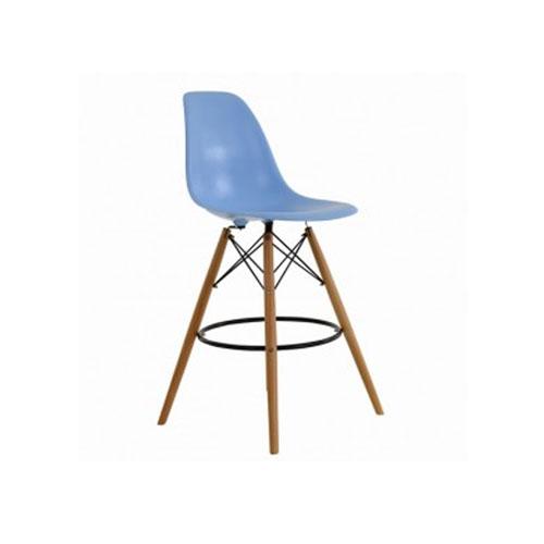 Vissanta Charles Eames DSW Bar Stool Duck Egg Blue