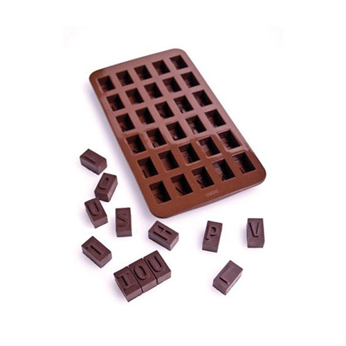 Alphabet Chocolate or Ice Mould