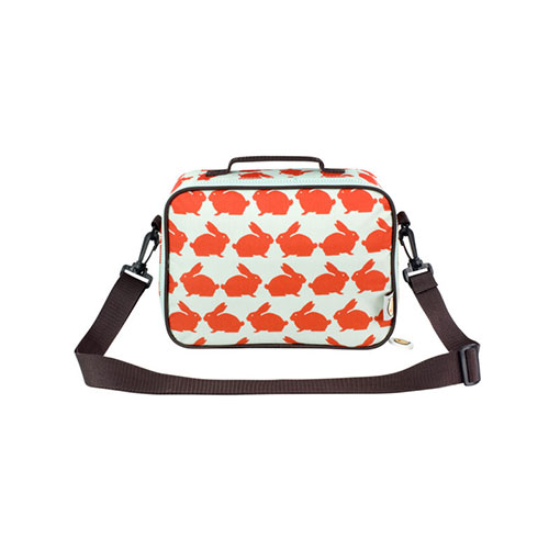 Anorak Kissing Rabbits Lunch Bag