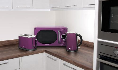 Daewoo DSK7A3P Cordless Kettle 1.7 Litre - Purple