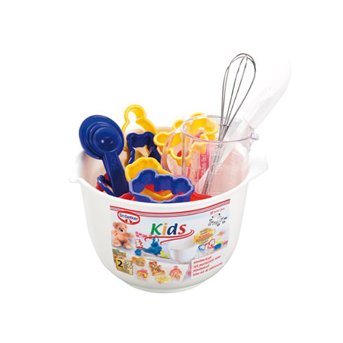 Dr. Oetker Children's Mini Baking Set with Mixing Bowl