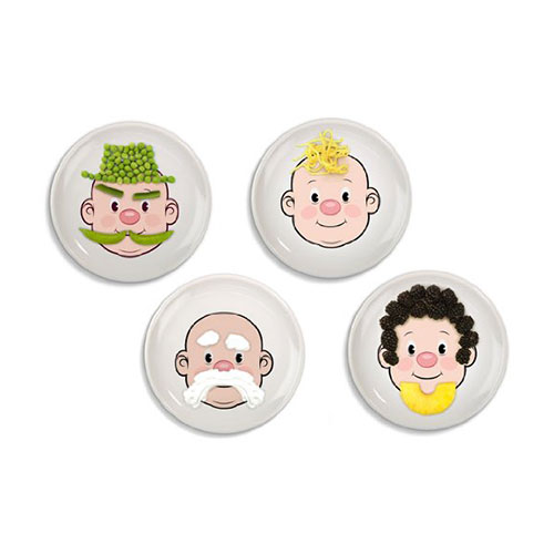 Fred Mr Food Face Dinner Plate