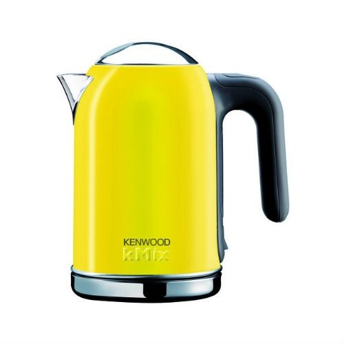 Kenwood Stainless Steel kMix Jug Kettle 1.6L, Yellow