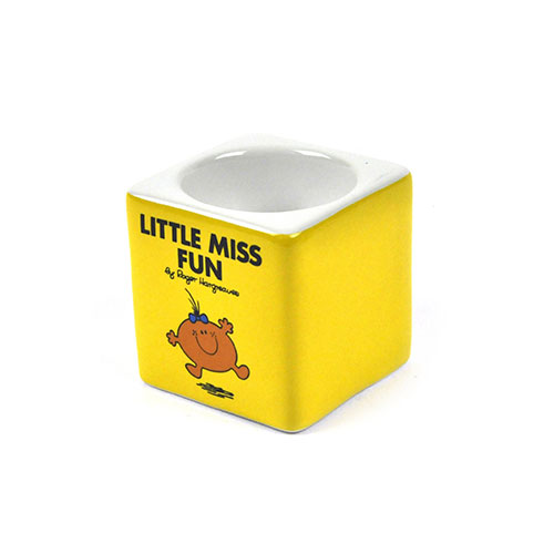 Little Miss Fun Egg Cup - The Mr Men And Little Miss Collection