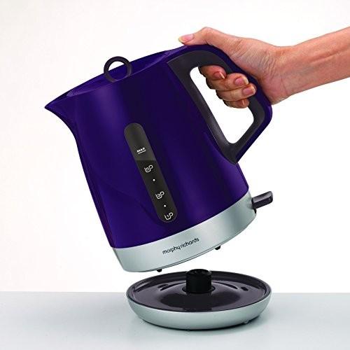 Morphy Richards 101208 Chroma Jug Kettle Plum Purple