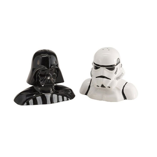 Star Wars Darth Vader Salt and Pepper Ceramic Set in Gift Box