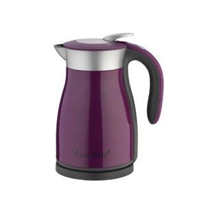 Vektra Electric Vacuum Kettle, 1.5 Litre, 1800 Watt, Purple