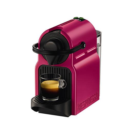 KRUPS Nespresso Inissia Capsule Coffee Machine Fuchsia