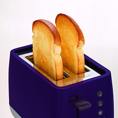 Morphy Richards 221108 Chroma 2 Slice Toaster Plum Purple