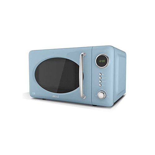Akai 20L Capacity 700w Digital Microwave Duck Egg Blue