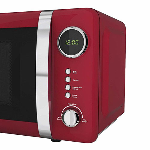 Akai A24005R Red Digital Microwave 700 Watt