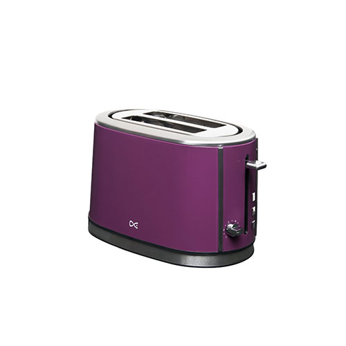 Daewoo DST2A3P Two-Slice Toaster Purple